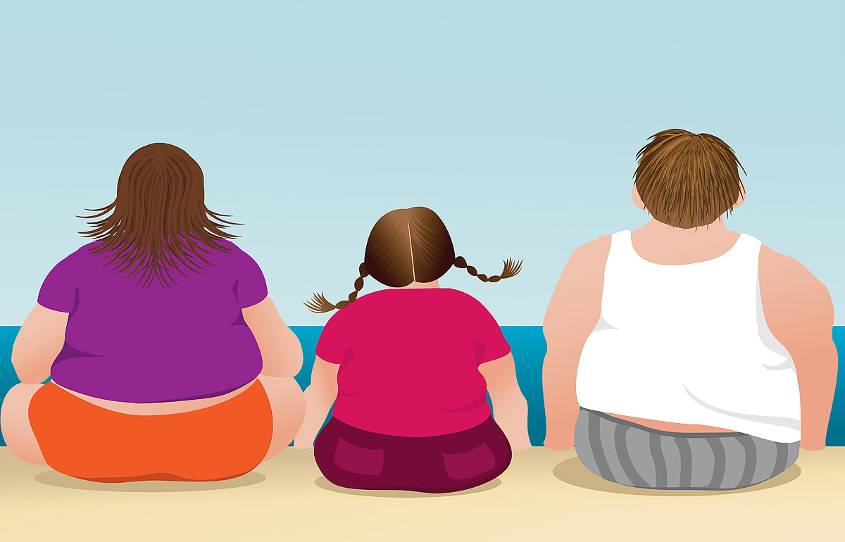 люди разговаривают йога против ожирения в картинках планировала